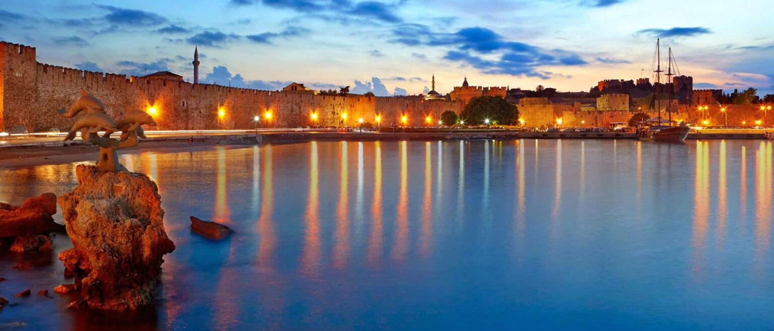 The Medieval Town of rhodes – Mandraki harbour